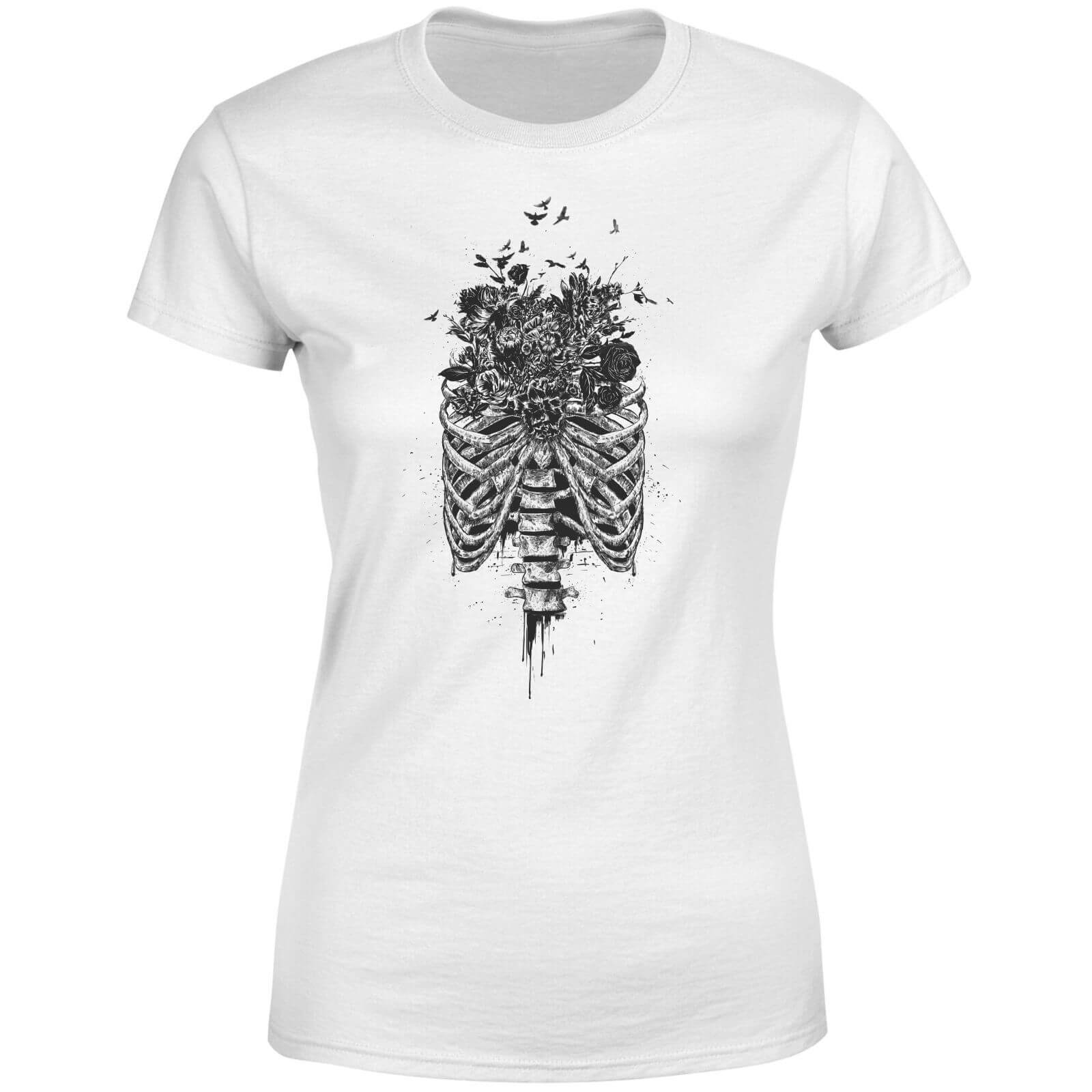 Ribcage And Flowers Women
