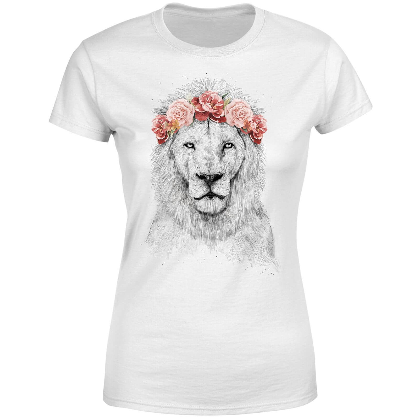 Lion And Flowers Women
