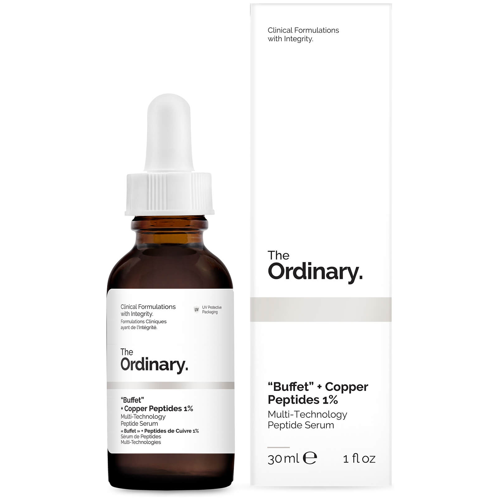 "The Ordinary ""Buffet"" + Copper Peptides 1%"