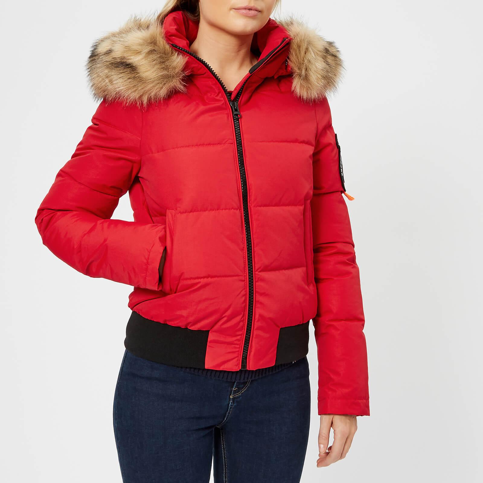 96ac03ad5 Superdry Women's Everest Ella Bomber Jacket - Red