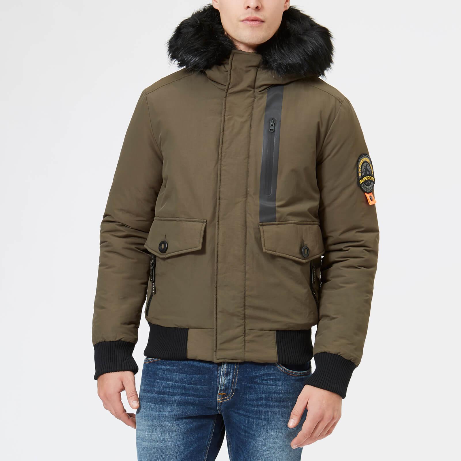 Superdry Men's Everest Bomber Jacket Khaki