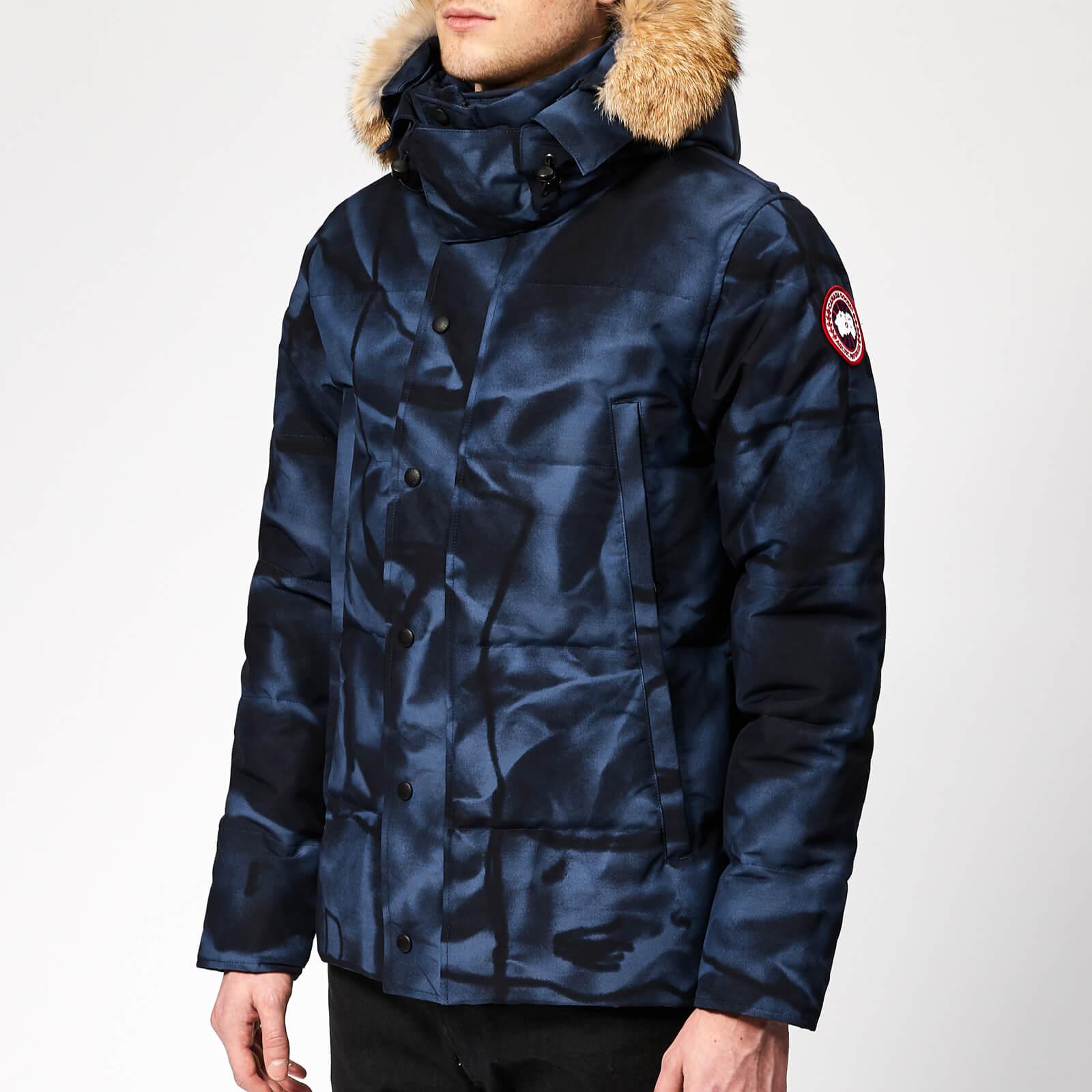 1647af4ef92 Canada Goose Men's Wyndham Parka Jacket - Blue Abstract Camo - Free UK  Delivery over £50