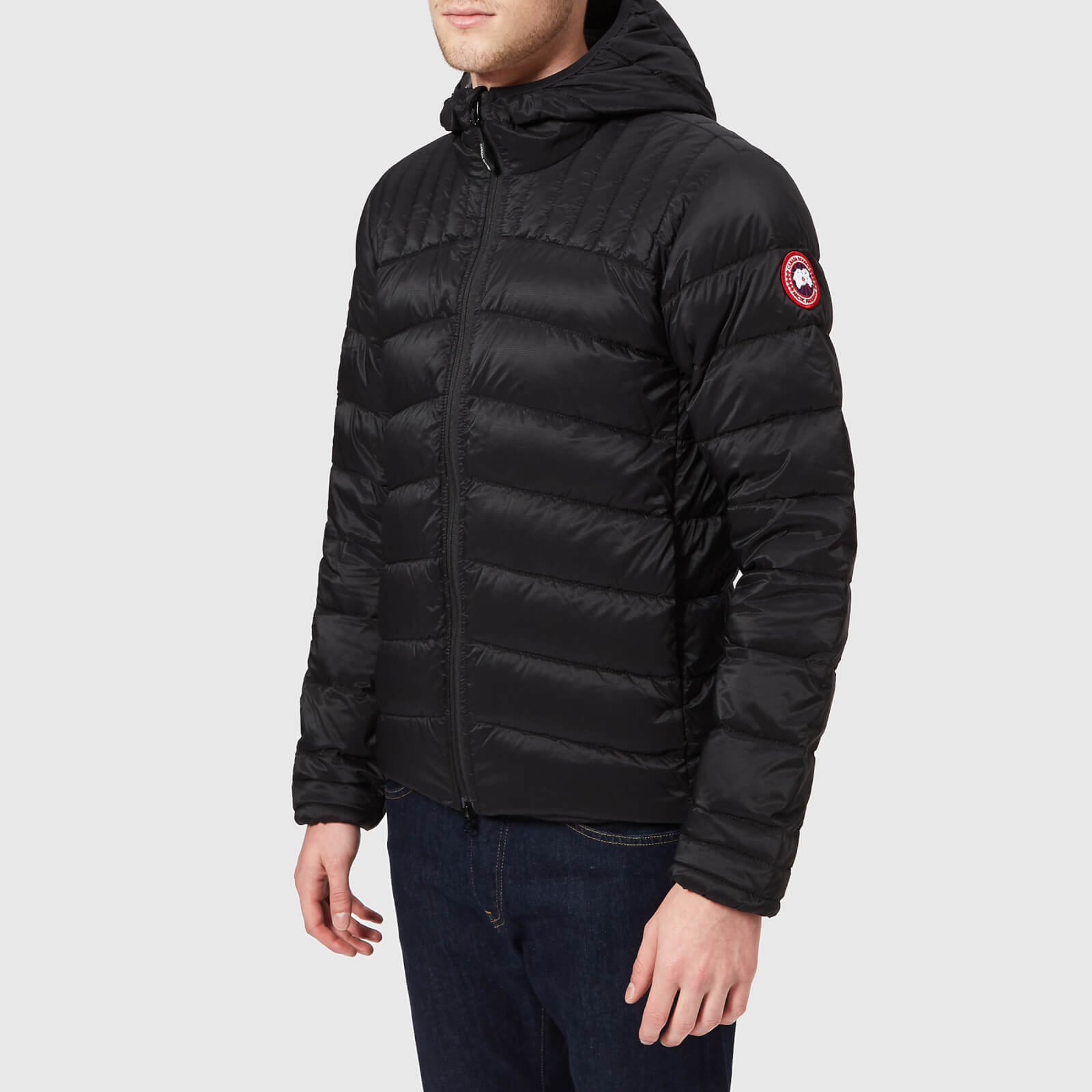 a4a258f5affa Canada Goose Men s Brookvale Hooded Jacket - Black Graphite - Free UK  Delivery over £50