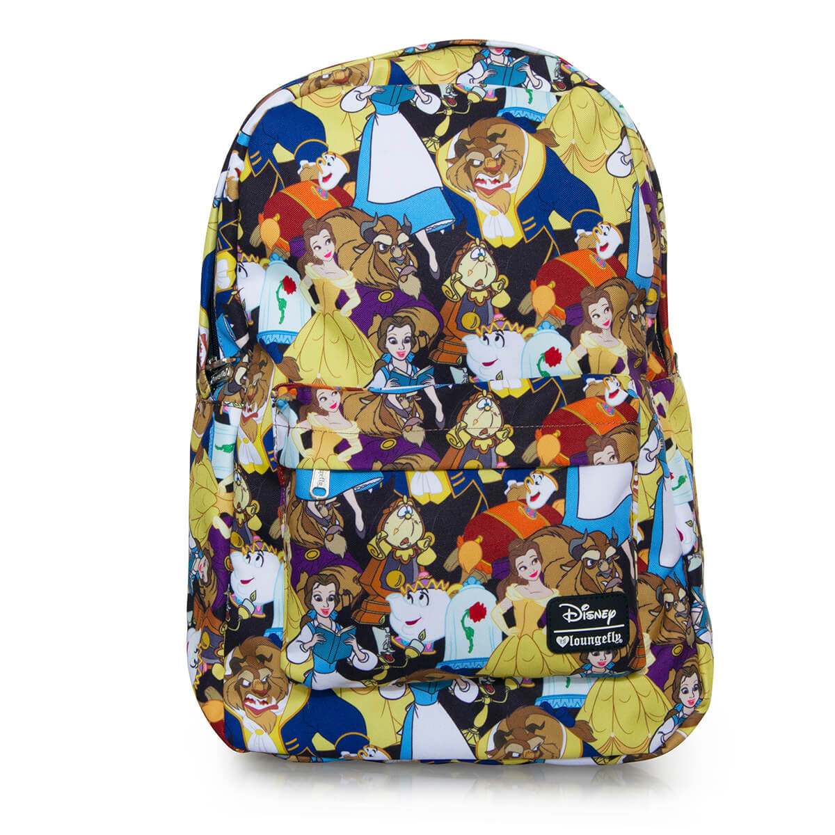 a9d009448f2 Loungefly Disney Beauty and the Beast AOP Backpack. Description