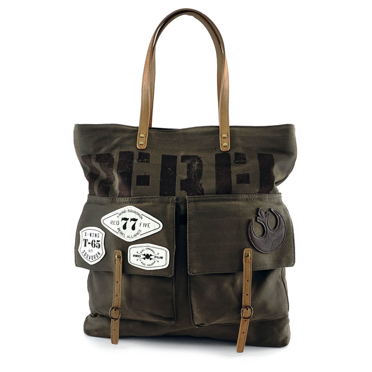 Loungefly Star Wars Rebel Join The Resistance Tote Bag