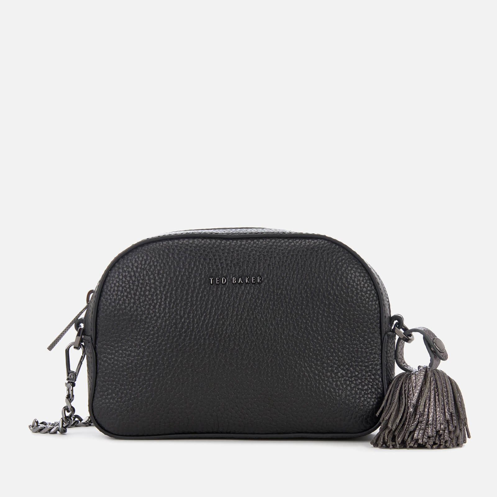 ff7bc3180 Ted Baker Women s Madiiee Leather Pom Belt Bag - Black Womens Accessories