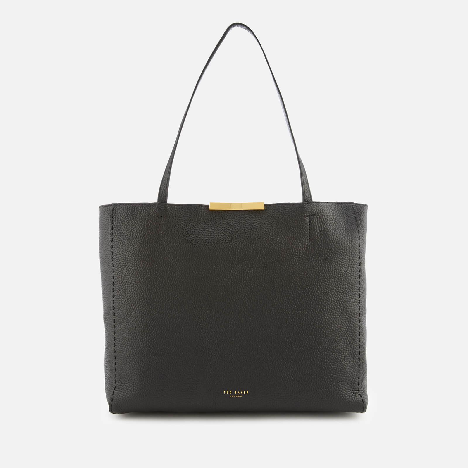 7ca889f12 Ted Baker Women s Caullie Bow Detail Soft Shopper Bag - Black Womens  Accessories