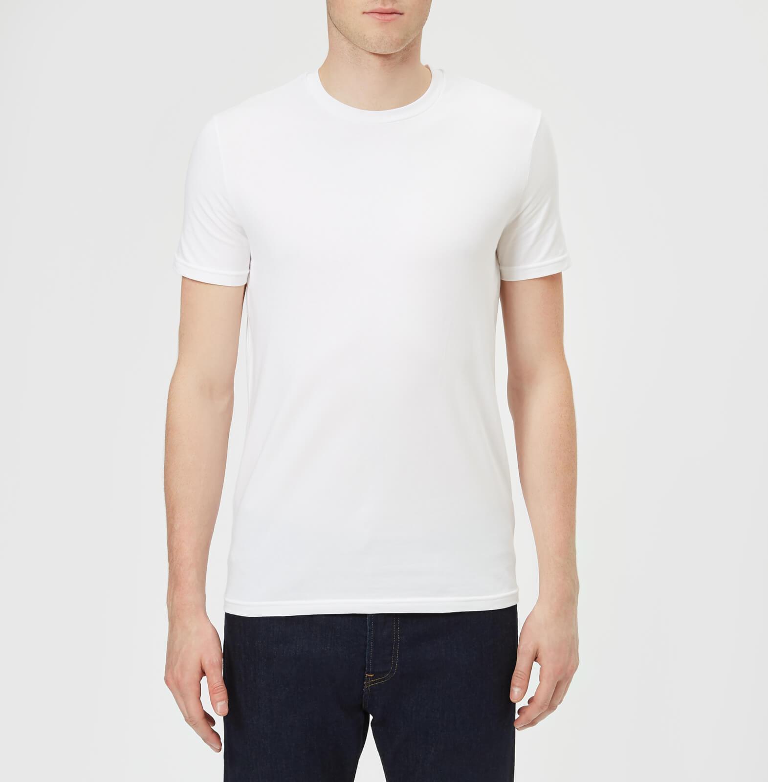 b6e30d3e1bb6 Dsquared2 Men's Twin Pack Crew Neck T-Shirt - White Clothing | TheHut.com