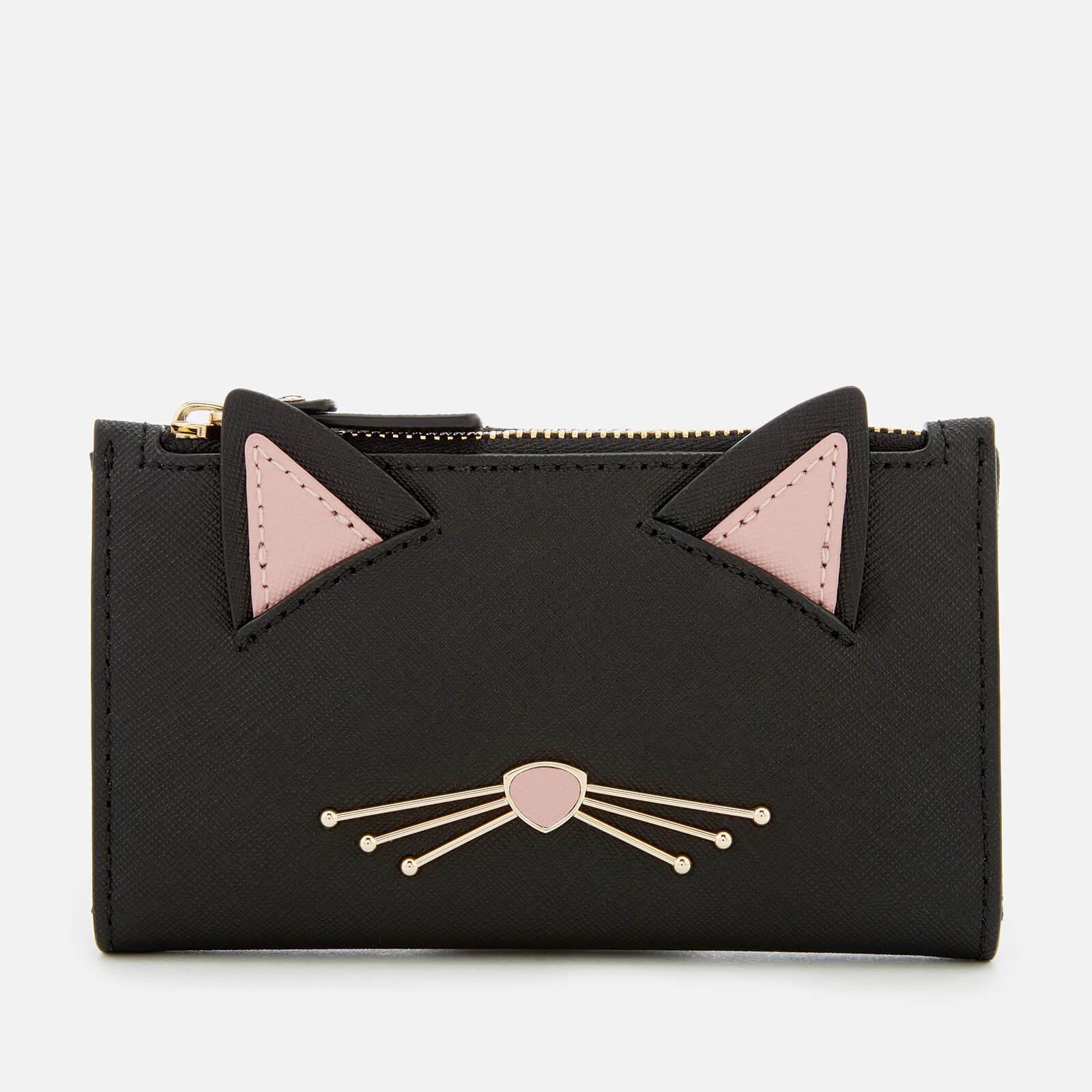 online retailer e9404 5c253 Kate Spade New York Women's Cat Mikey Wallet - Black Multi