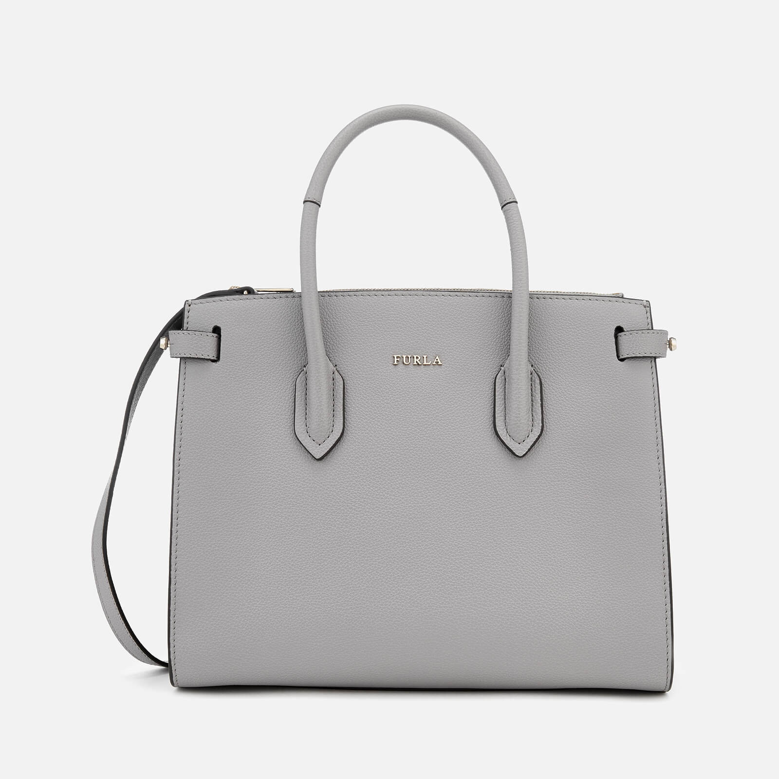 Furla Women's Pin Small Tote Bag - Grey