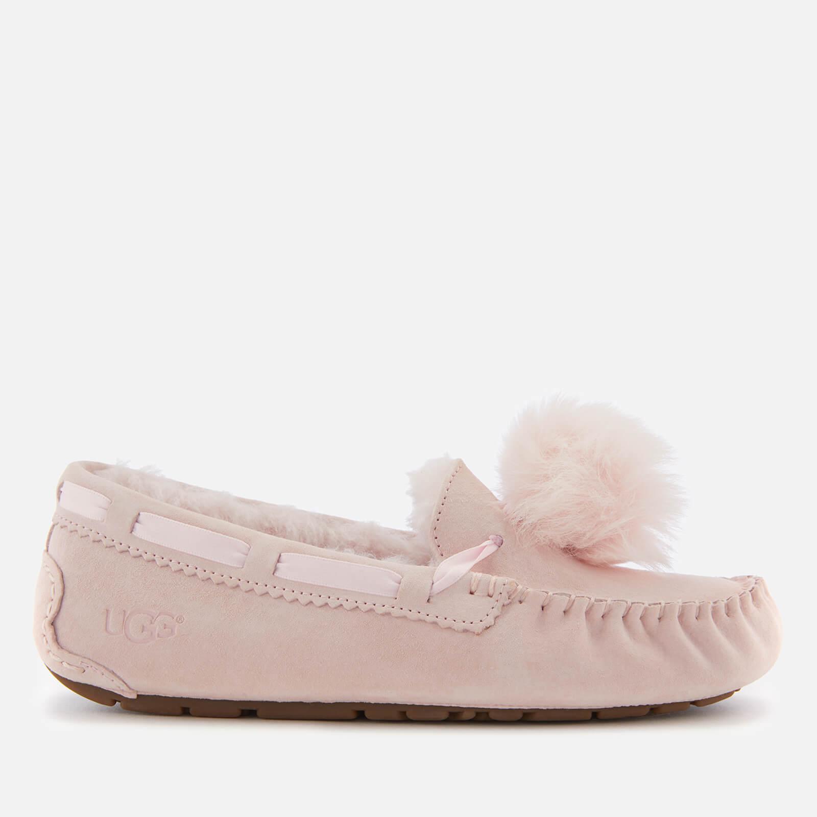 158c35bdacc UGG Women's Dakota Moccasin Suede Slippers - Seashell Pink