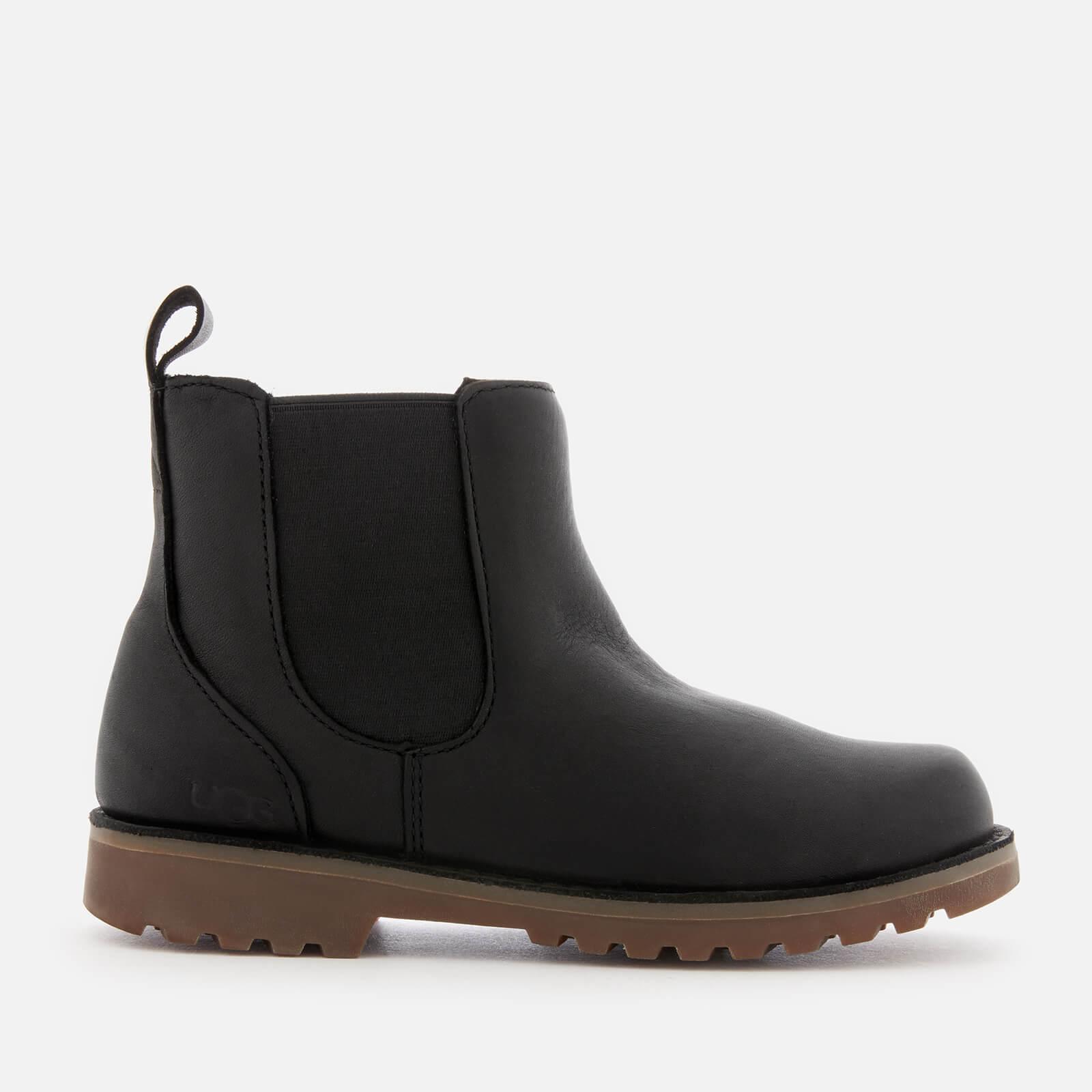 6ec90861dca UGG Kid's Callum Water Resistant Chelsea Boots - Black