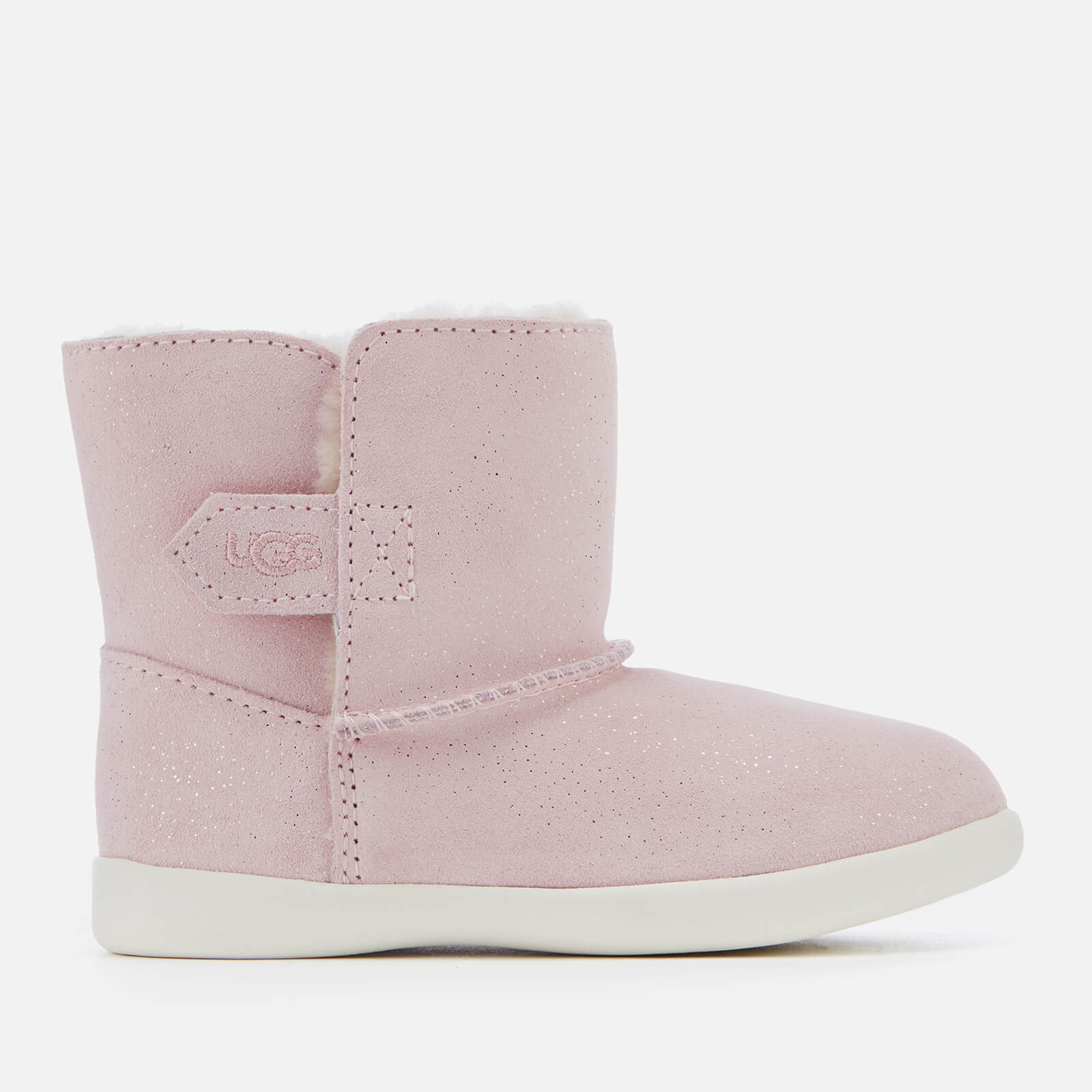 ca9a977c13d UGG Toddler's Keelan Sparkle Suede Boots - Baby Pink