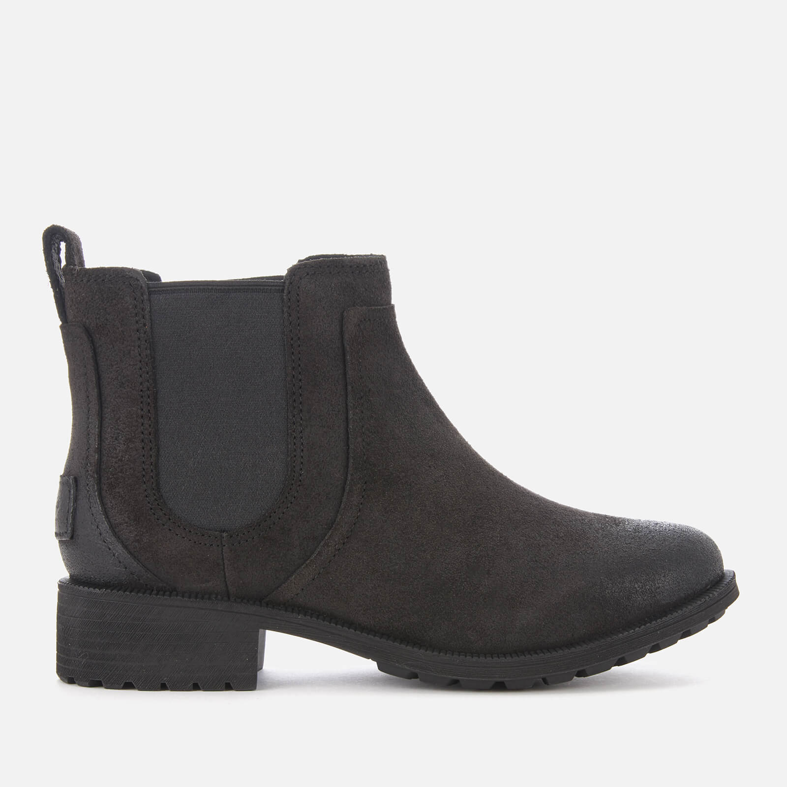 c4b6f1561cf UGG Women's Bonham II Waterproof Leather Chelsea Boots - Black