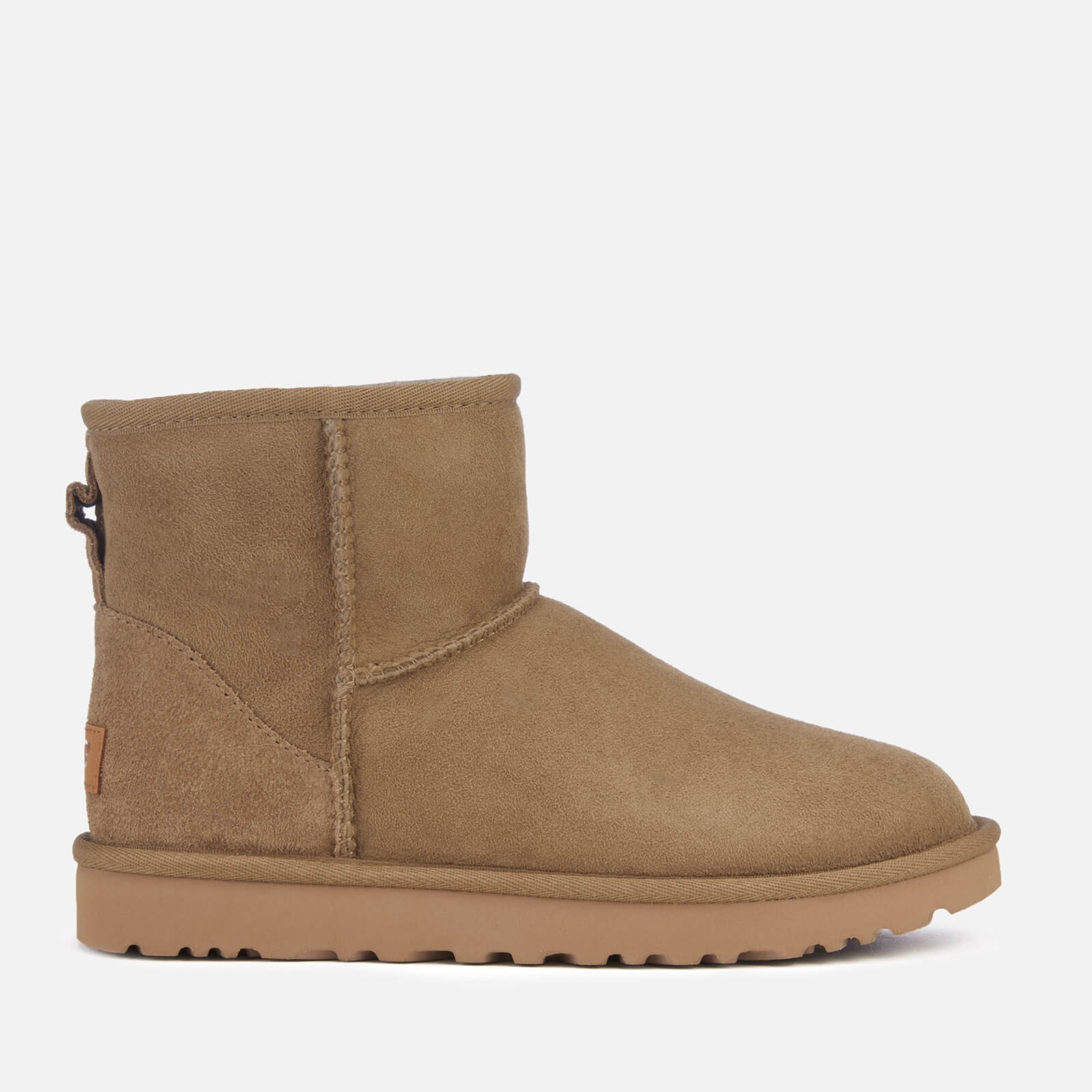 Ugg Womens Classic Mini Ii Sheepskin Boots Antilope Womens