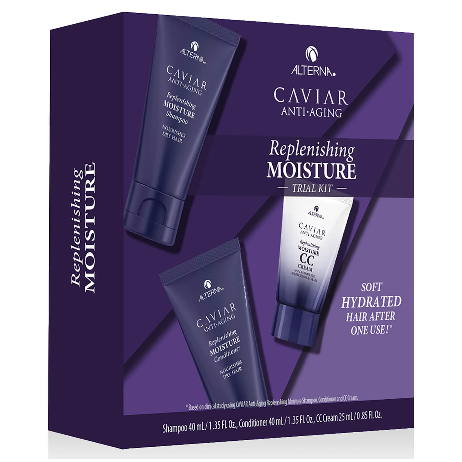 Alterna Caviar Moisture Consumer Trial Kit