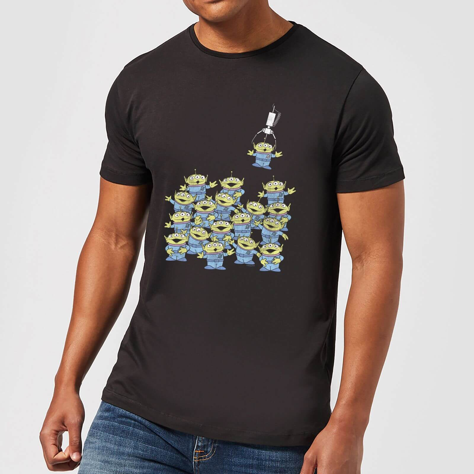 177adefbf36cd8 Toy Story The Claw Men's T-Shirt - Black Clothing   Zavvi