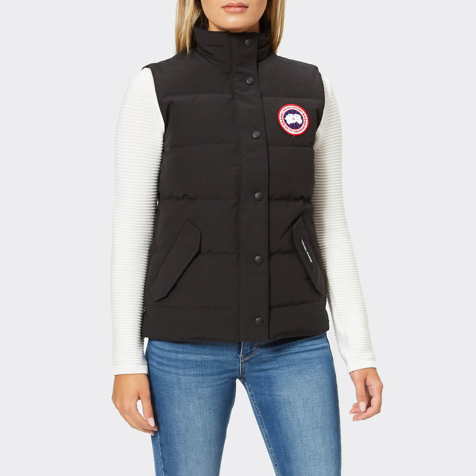 3737b9c11150 Canada Goose Women s Freestyle Vest - Black - Free UK Delivery over £50