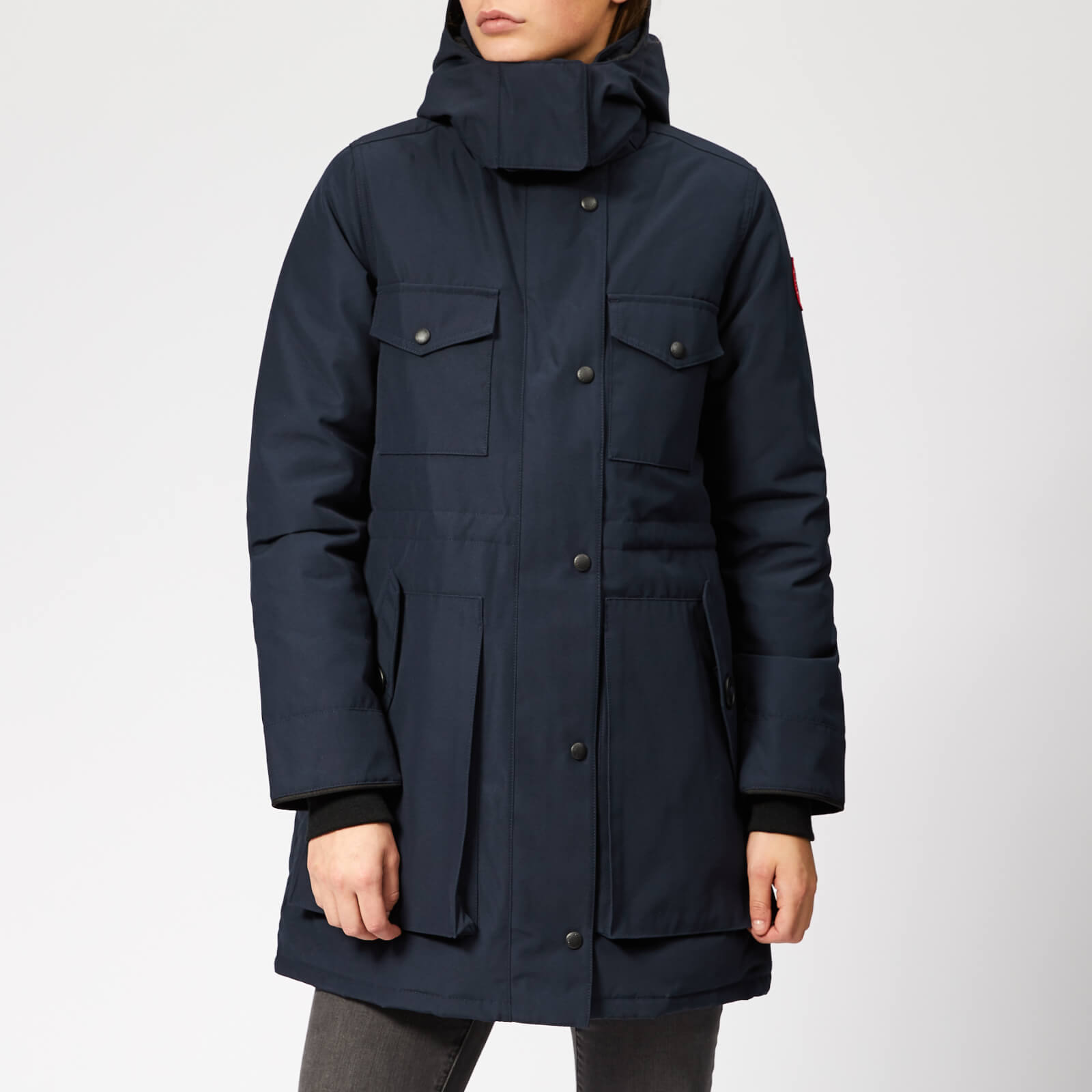 0372ba498c8 Canada Goose Women's Gabriola Parka - Admiral Blue - Free UK Delivery over  £50