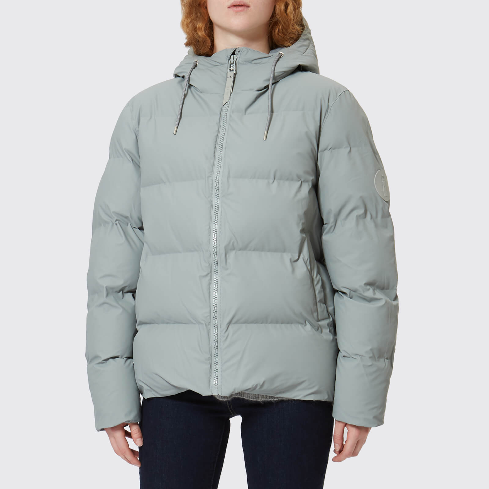 7733ada47 RAINS Women's Puffa Jacket - Stone - Free UK Delivery over £50