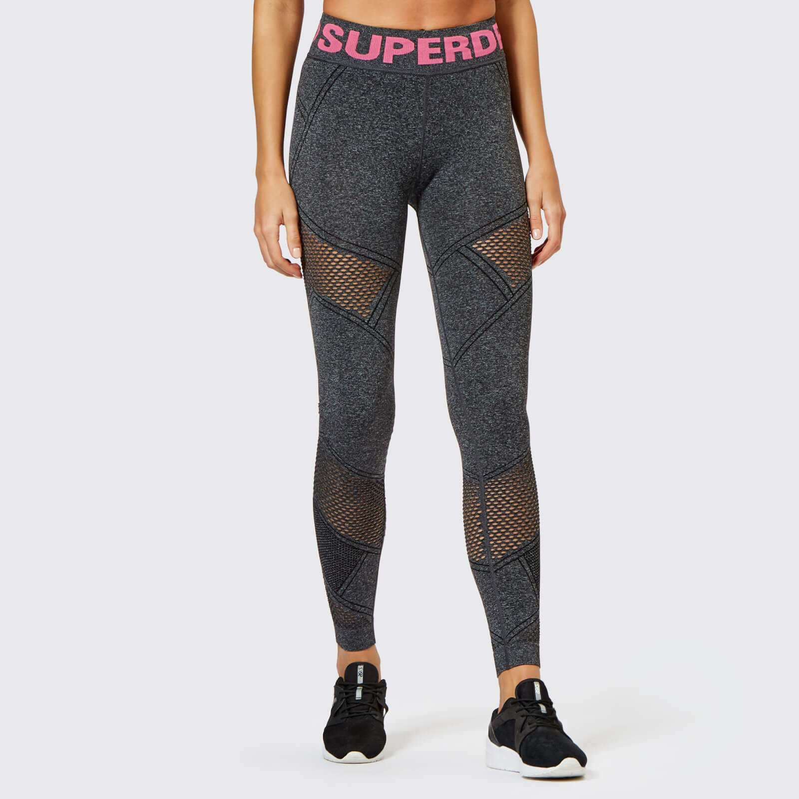e16ce2830303a2 Superdry Sport Women's Active Seamless Leggings - Black Marl Womens  Clothing | TheHut.com