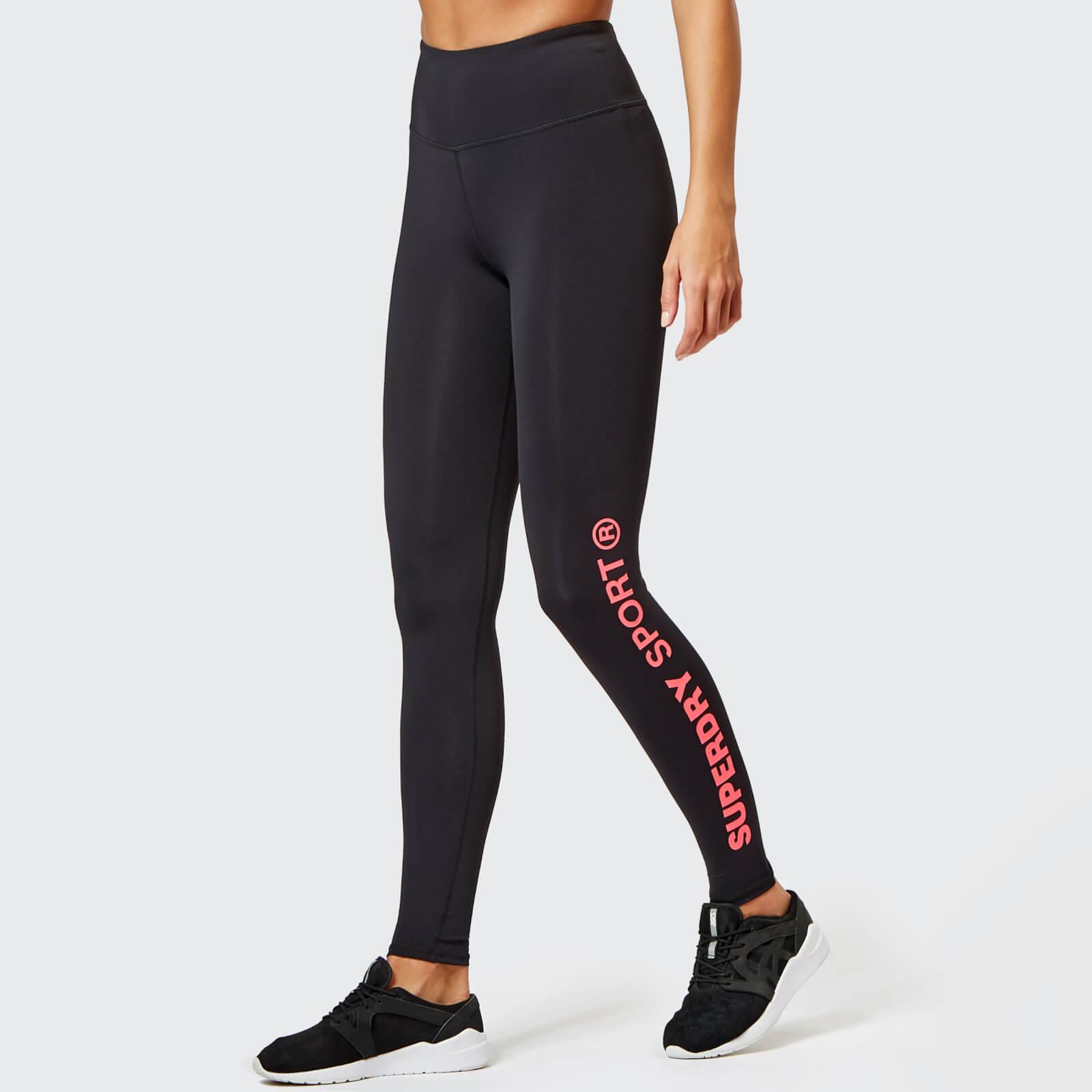 Leggings Women's Sport Superdry Core Womens Essential Black A4Rq5jc3L