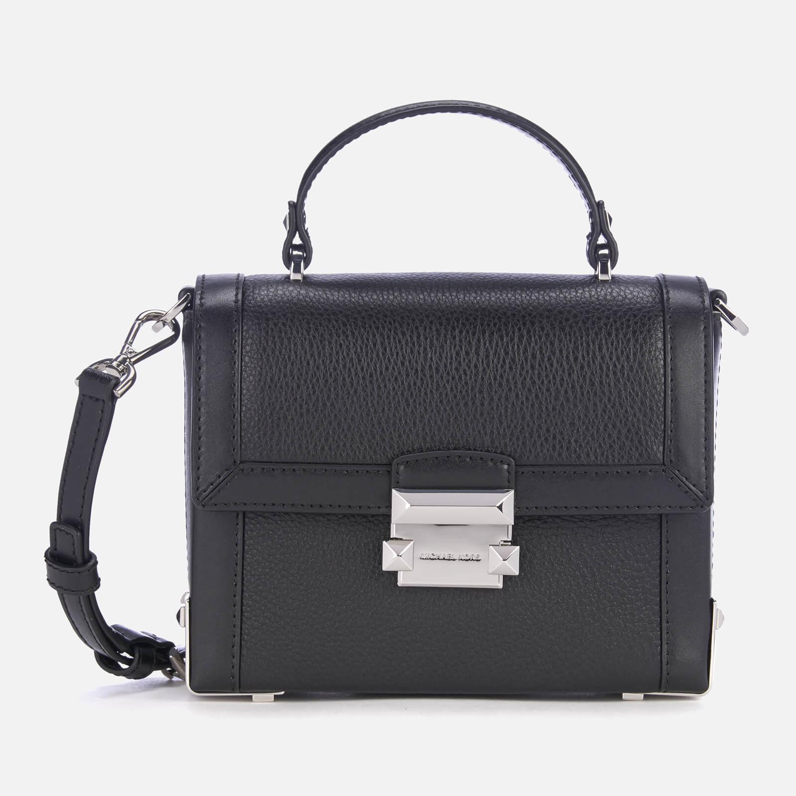 01971a5aced MICHAEL MICHAEL KORS Women's Jayne Small Trunk Bag - Black