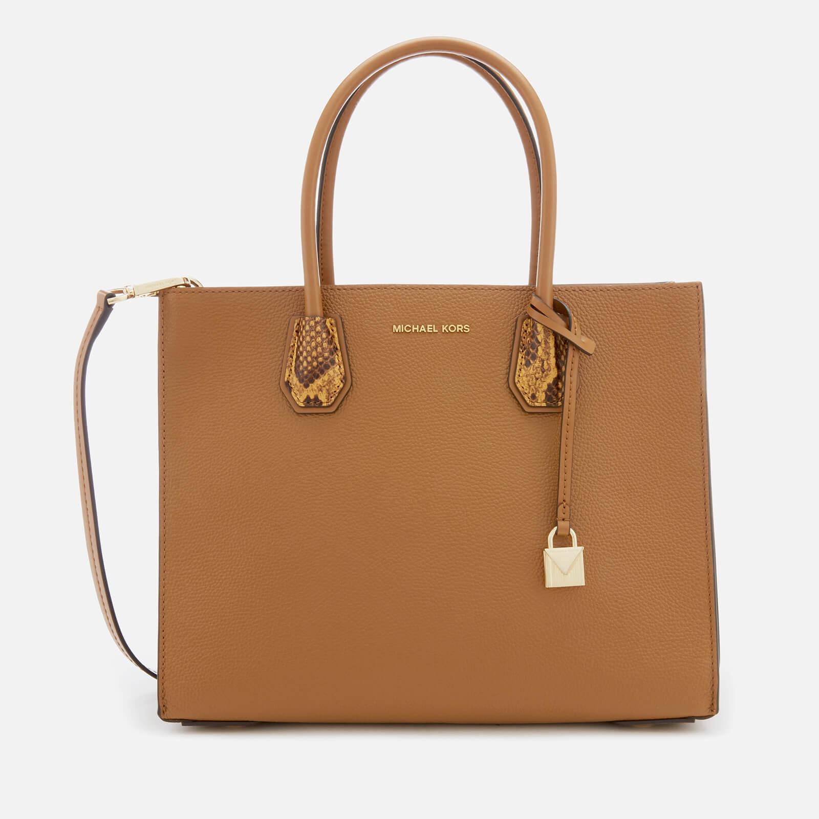 0c9277c41279 MICHAEL MICHAEL KORS Women's Mercer Large Convertible Tote Bag - Acorn -  Free UK Delivery over £50