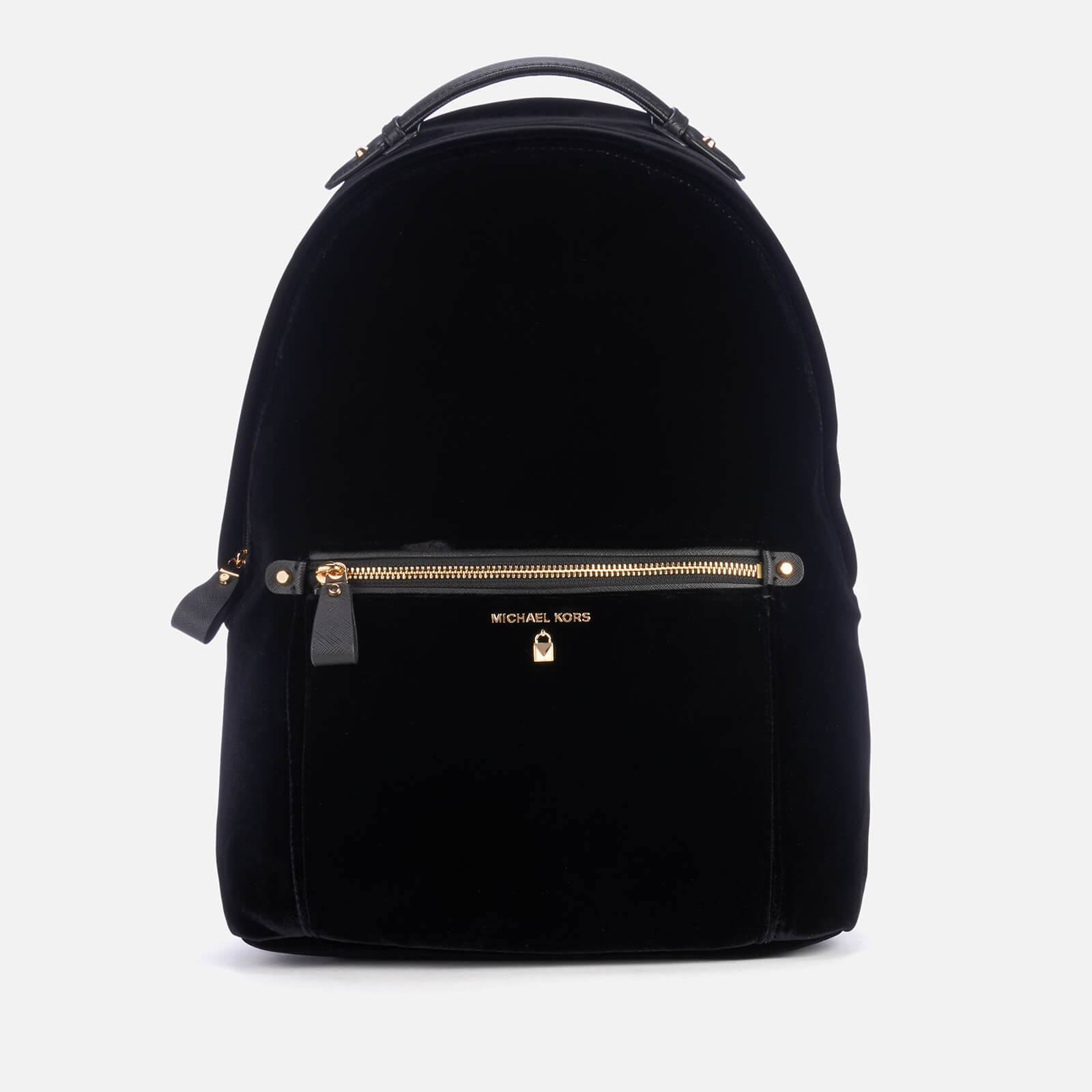 61604a463adf6a MICHAEL MICHAEL KORS Women's Nylon Kelsey Large Backpack - Black Velvet -  Free UK Delivery over £50