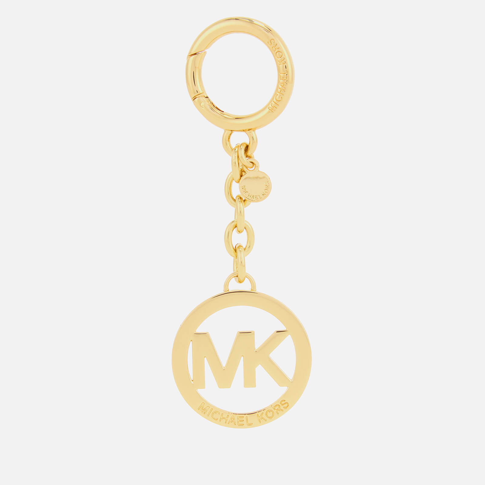 297a392f36cc MICHAEL MICHAEL KORS Women s MK Key Fob - Gold - Free UK Delivery ...