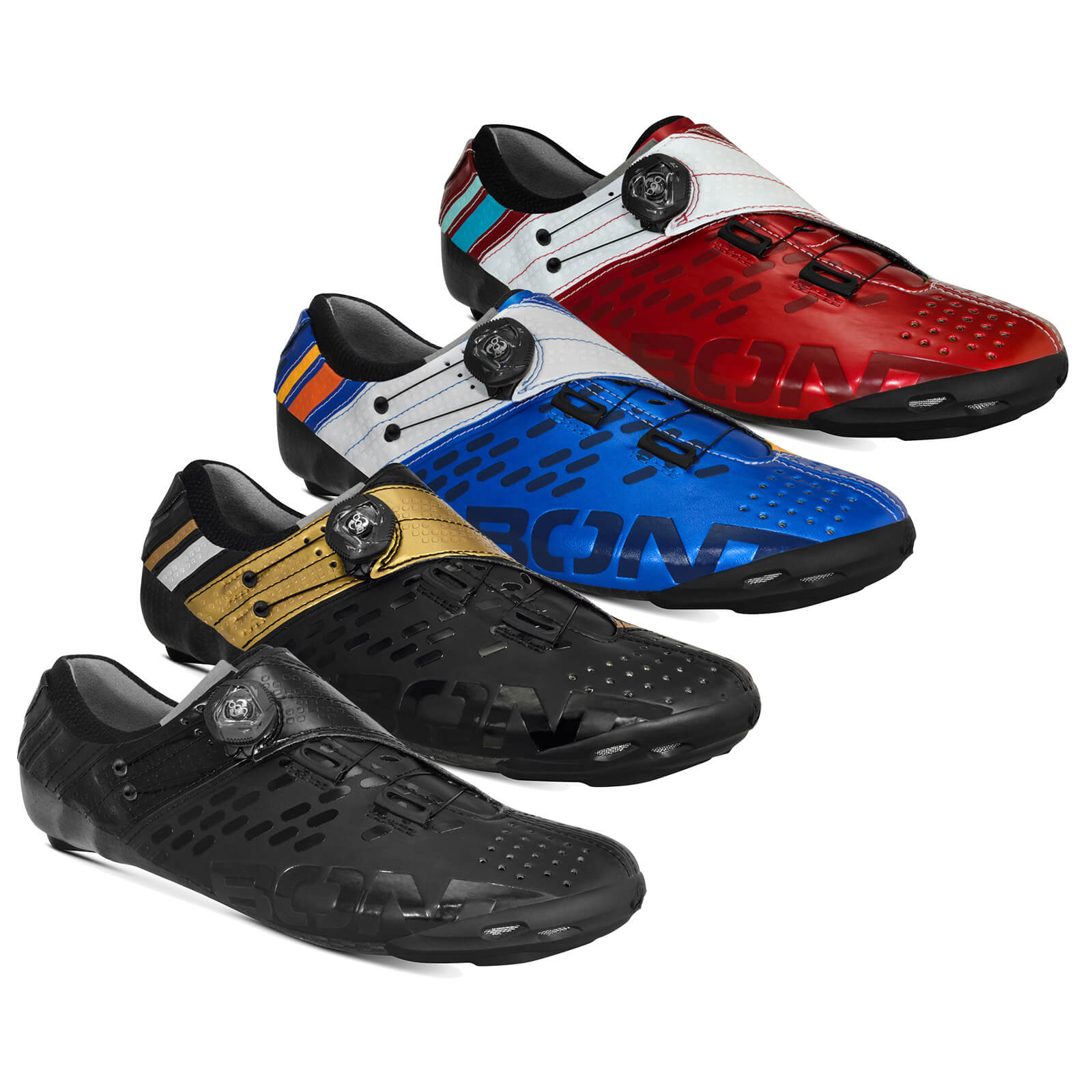 BOA Cycling Shoe Euro 49 Black//Grey BONT Riot MTB