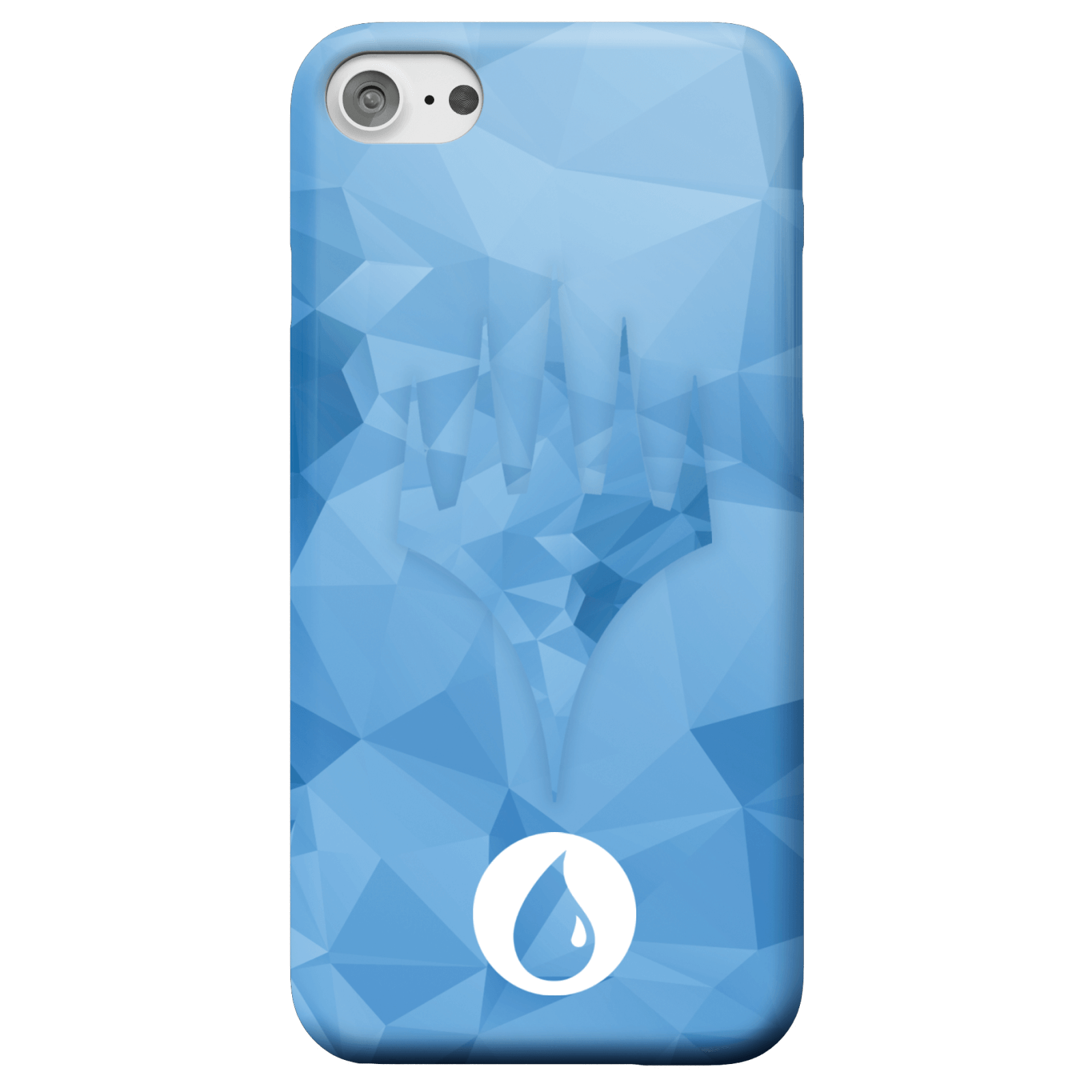 Magic The Gathering Blue Mana Phone Case for iPhone and Android