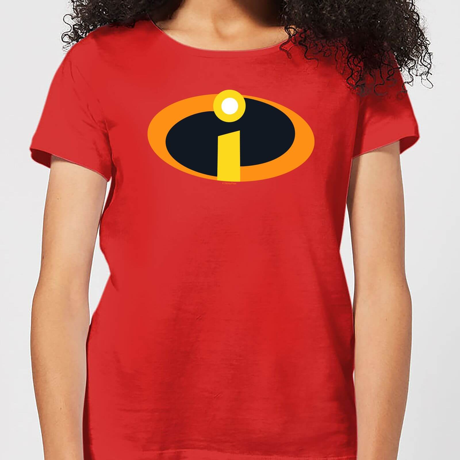 501795a3 Incredibles 2 Logo Women's T-Shirt - Red Clothing | Zavvi