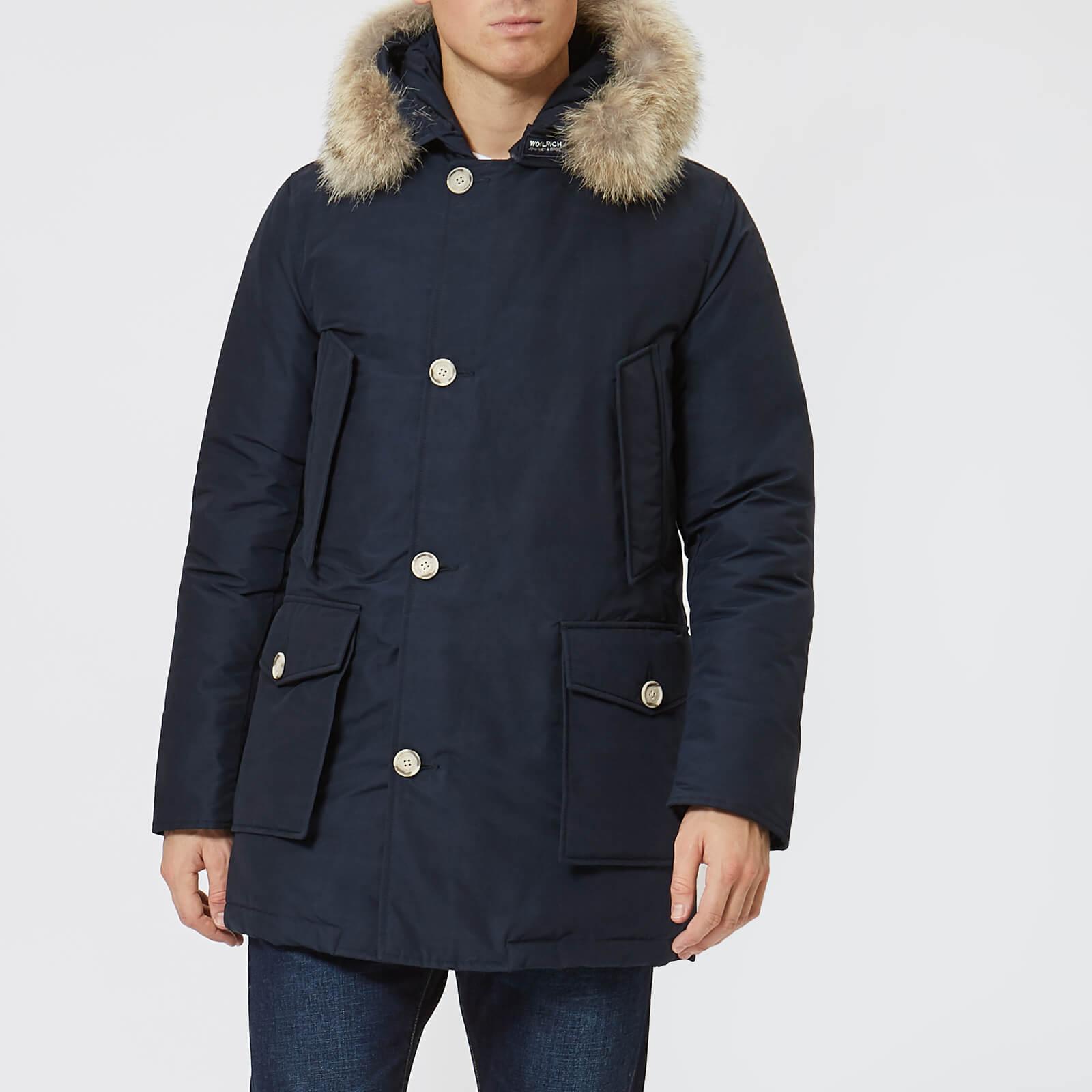 buy online 789ff 70360 Woolrich Men's Arctic Parka - Melton Blue