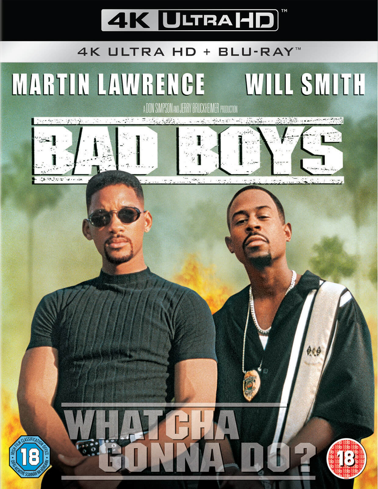 Bad Boys - 2 Disc 4K Ultra HD Blu-ray - Zavvi UK
