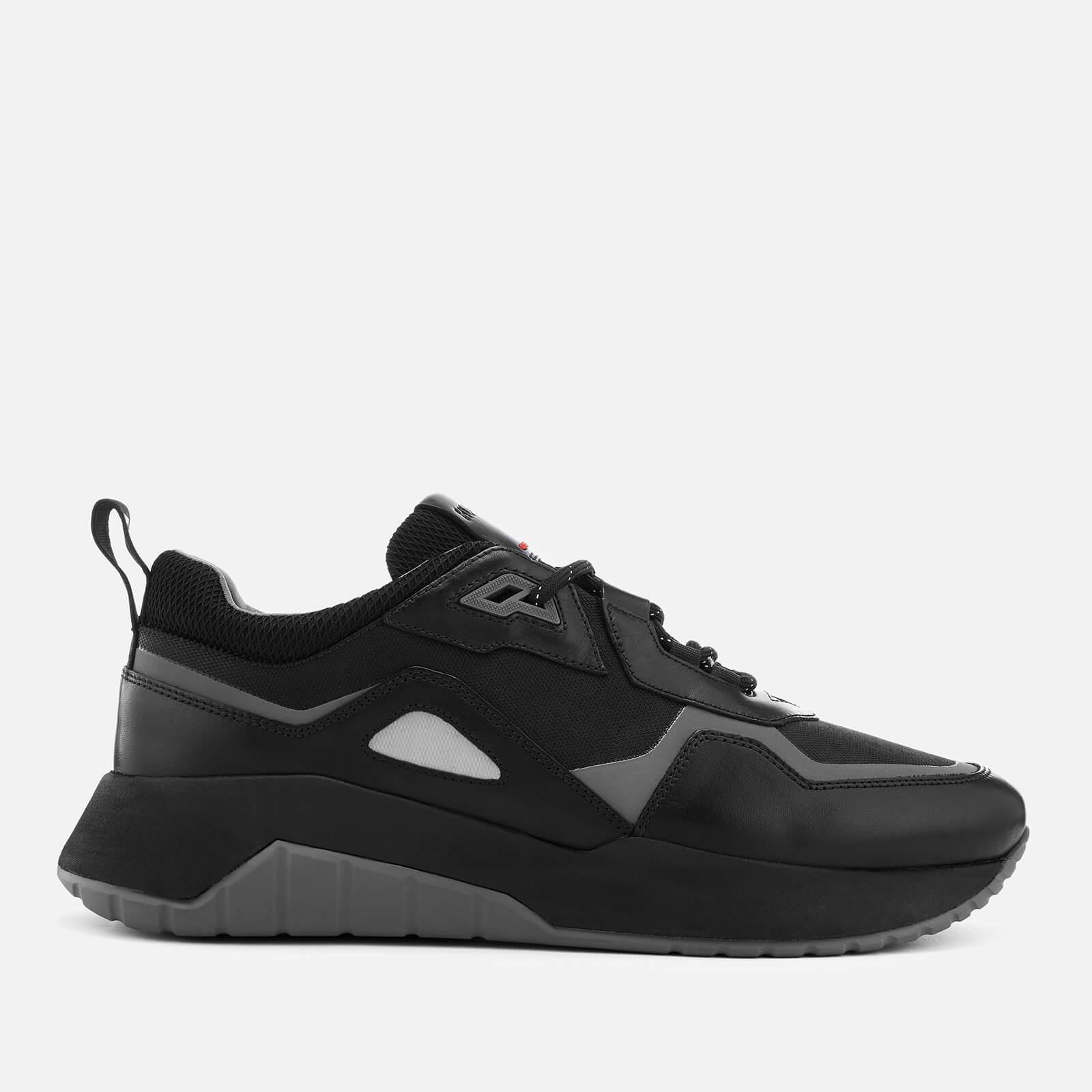 hot sale online 64e34 77490 HUGO Men's Atom Running Trainers - Black