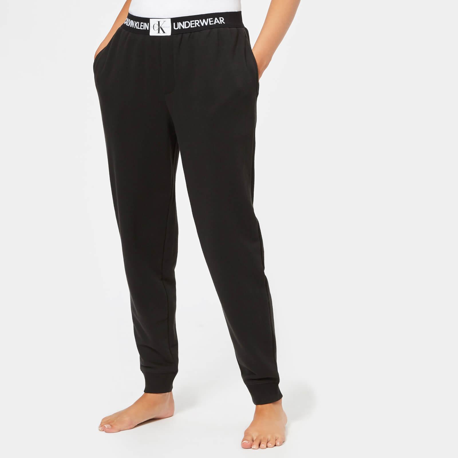 41815d24b8588 Calvin Klein Women's Monogram Joggers - Black - Free UK Delivery over £50