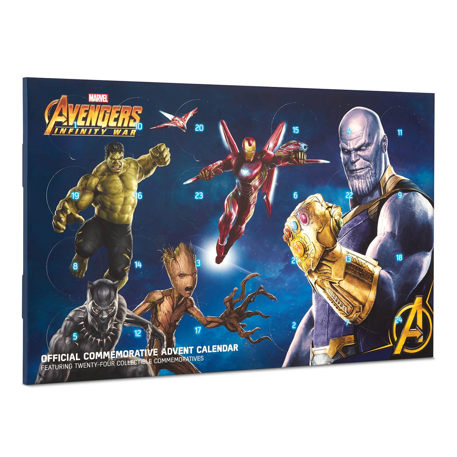 Marvel Calendrier.Calendrier De L Avent Marvel Avengers Infinity War Edition Limitee