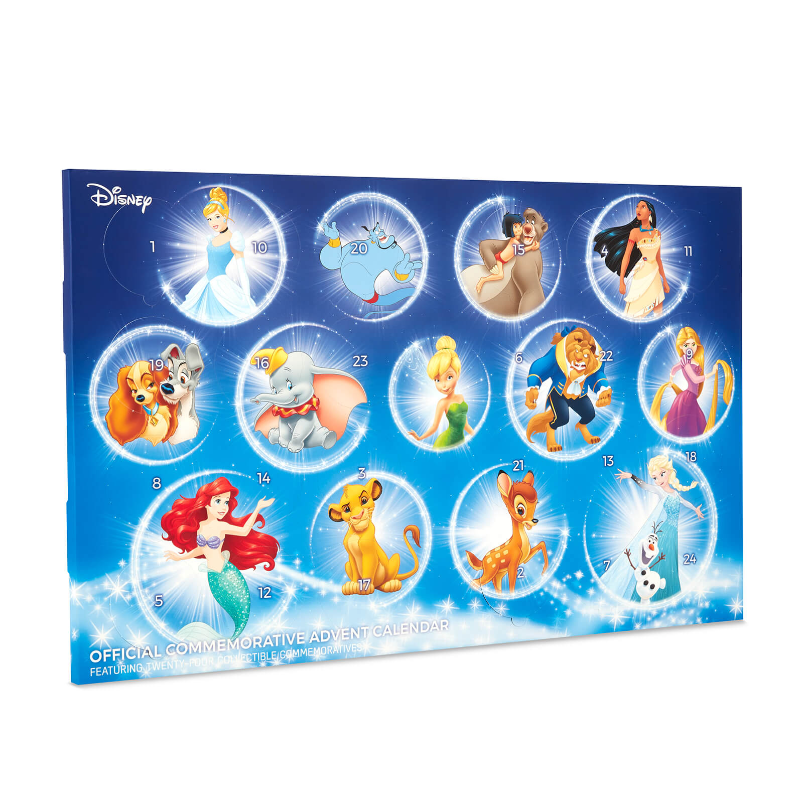 Calendrier Gotham.Disney Collectable Coin Advent Calendar Limited Edition