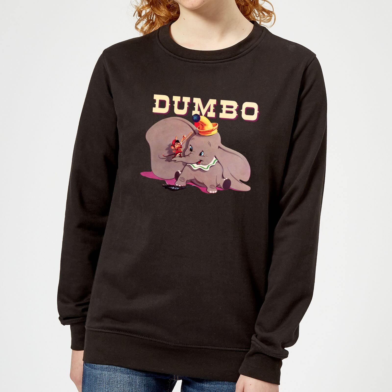 outlet store cd840 e54ae Dumbo Timothy's Trombone Damen Pullover - Schwarz