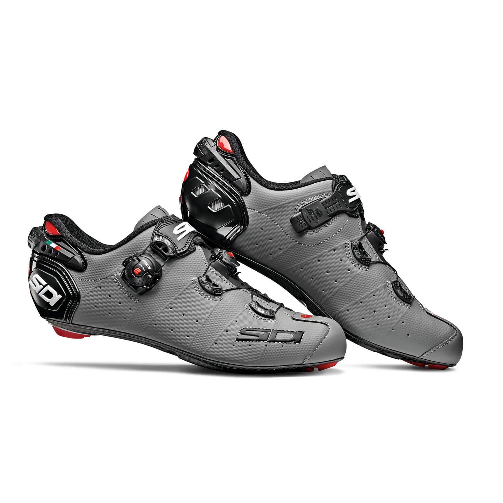 3ca227f0e Sidi Wire 2 Carbon Matt Road Shoes - Matt Grey Black