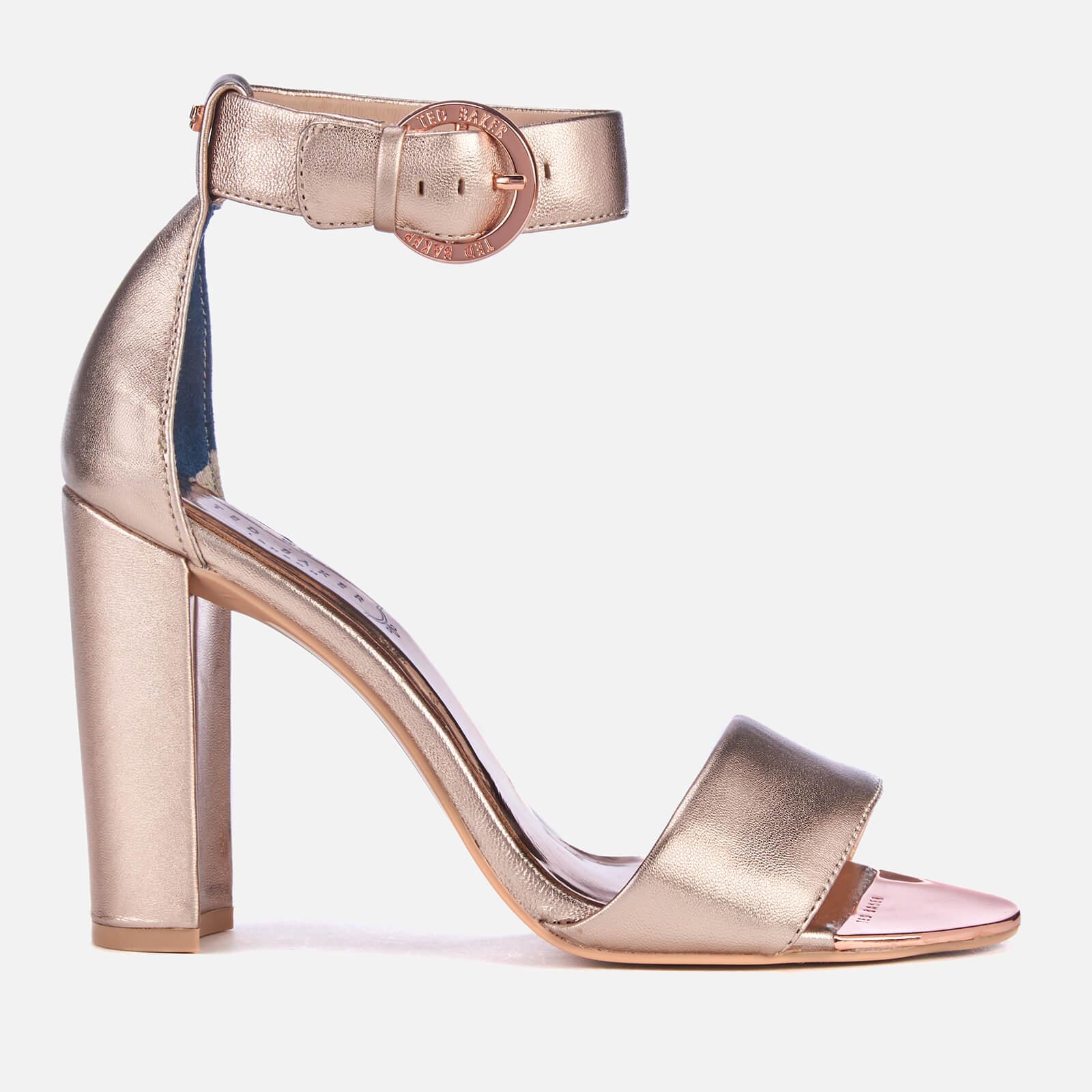 038dd0f136d7 Ted Baker Women s Secoal Block Heeled Sandals - Rose Gold Womens Footwear
