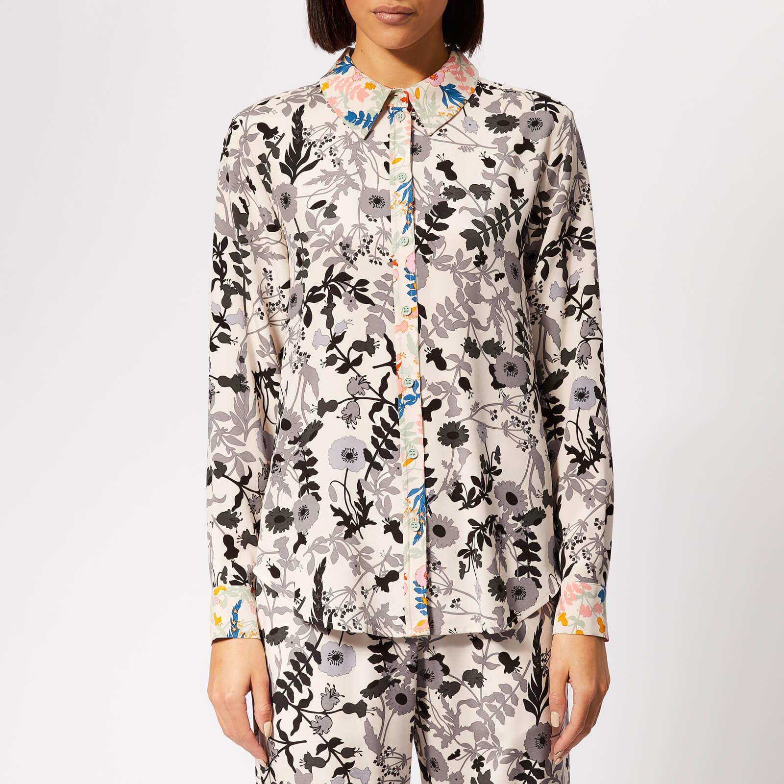 bca925381b4 Stine Goya Women's Maxwell Shirt - Flowers Light - Free UK Delivery over £50