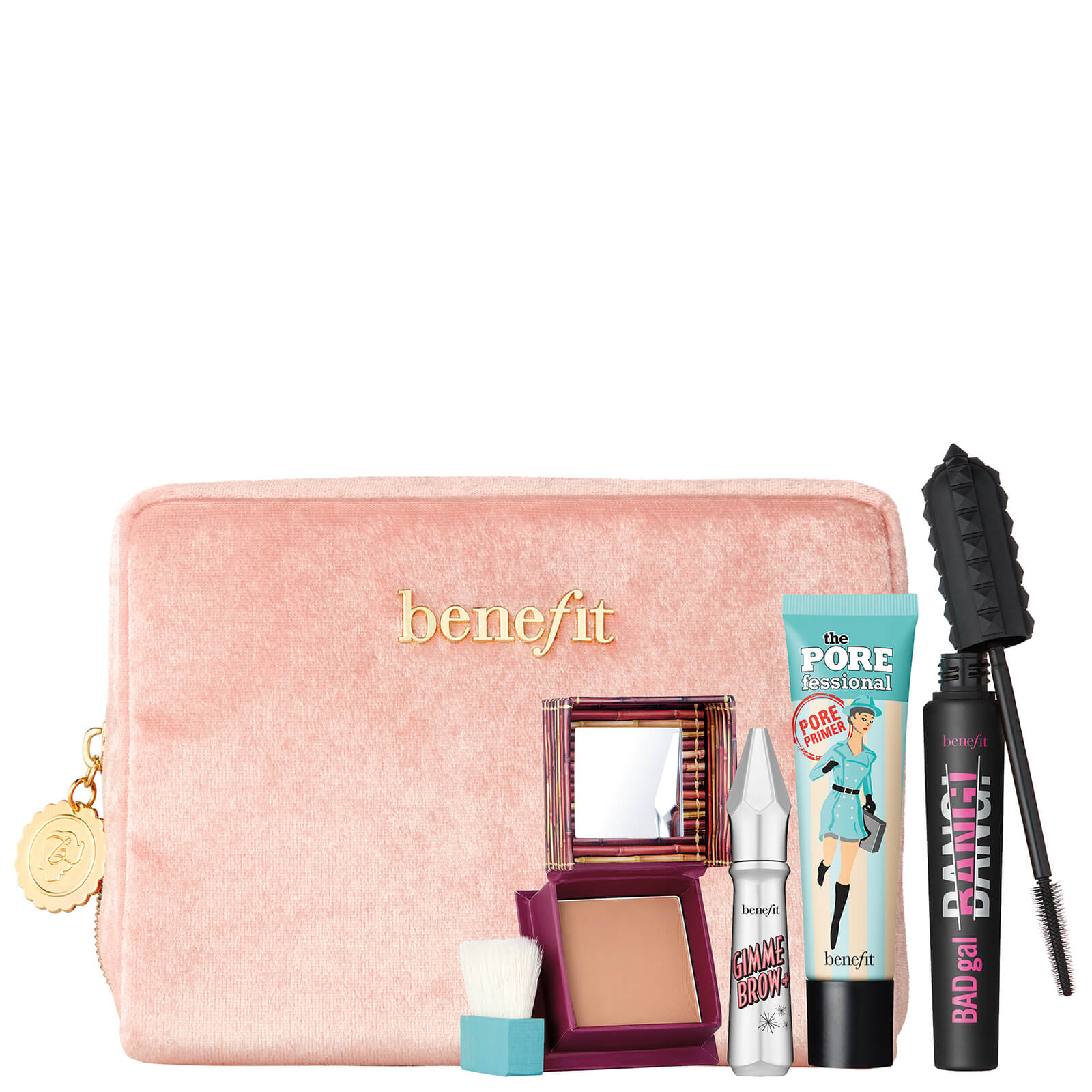 benefit Sweeten Up Buttercup Holiday 2018 Situational Bag Set (Worth £82)