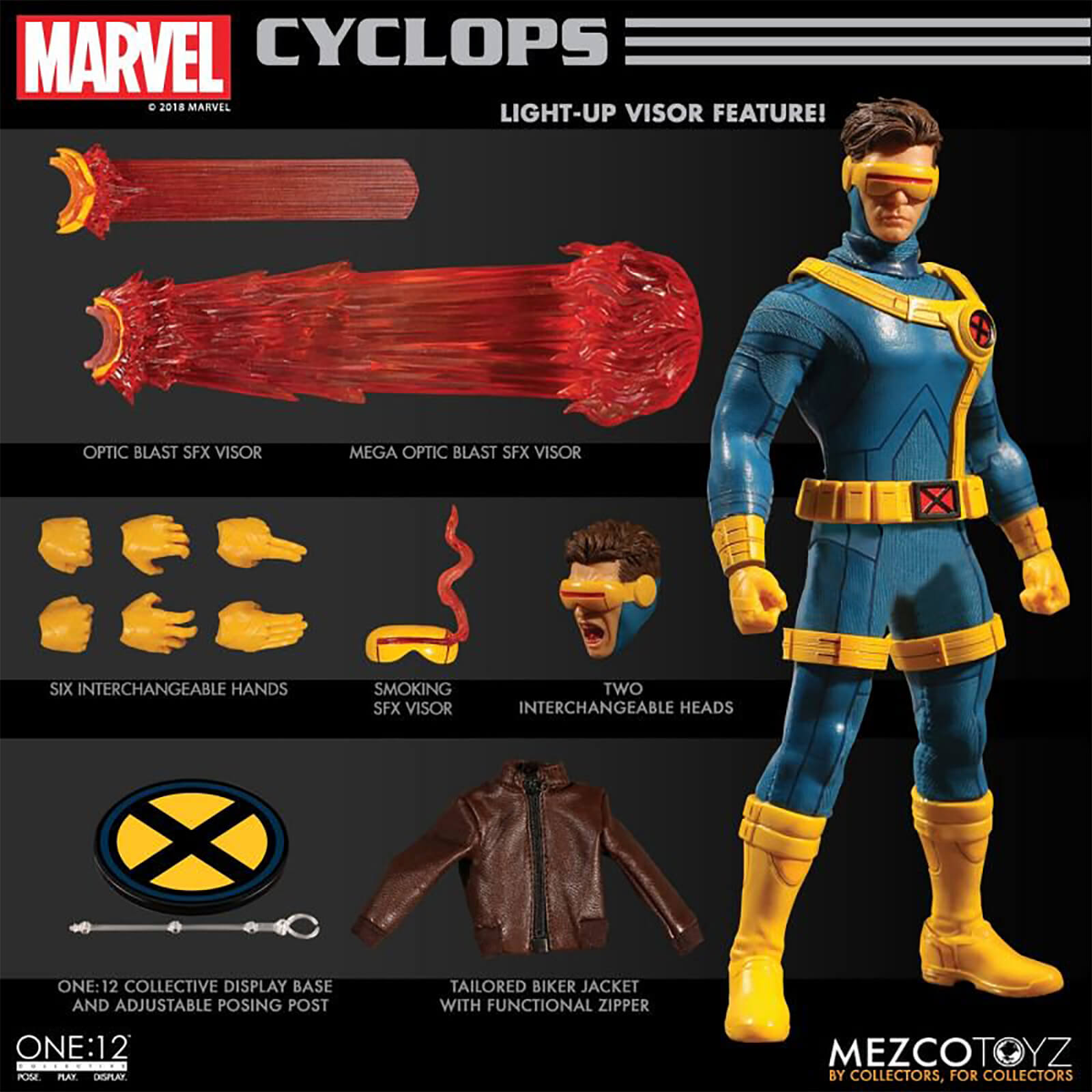 Marvel Cyclops Action Figure One 12 Collective