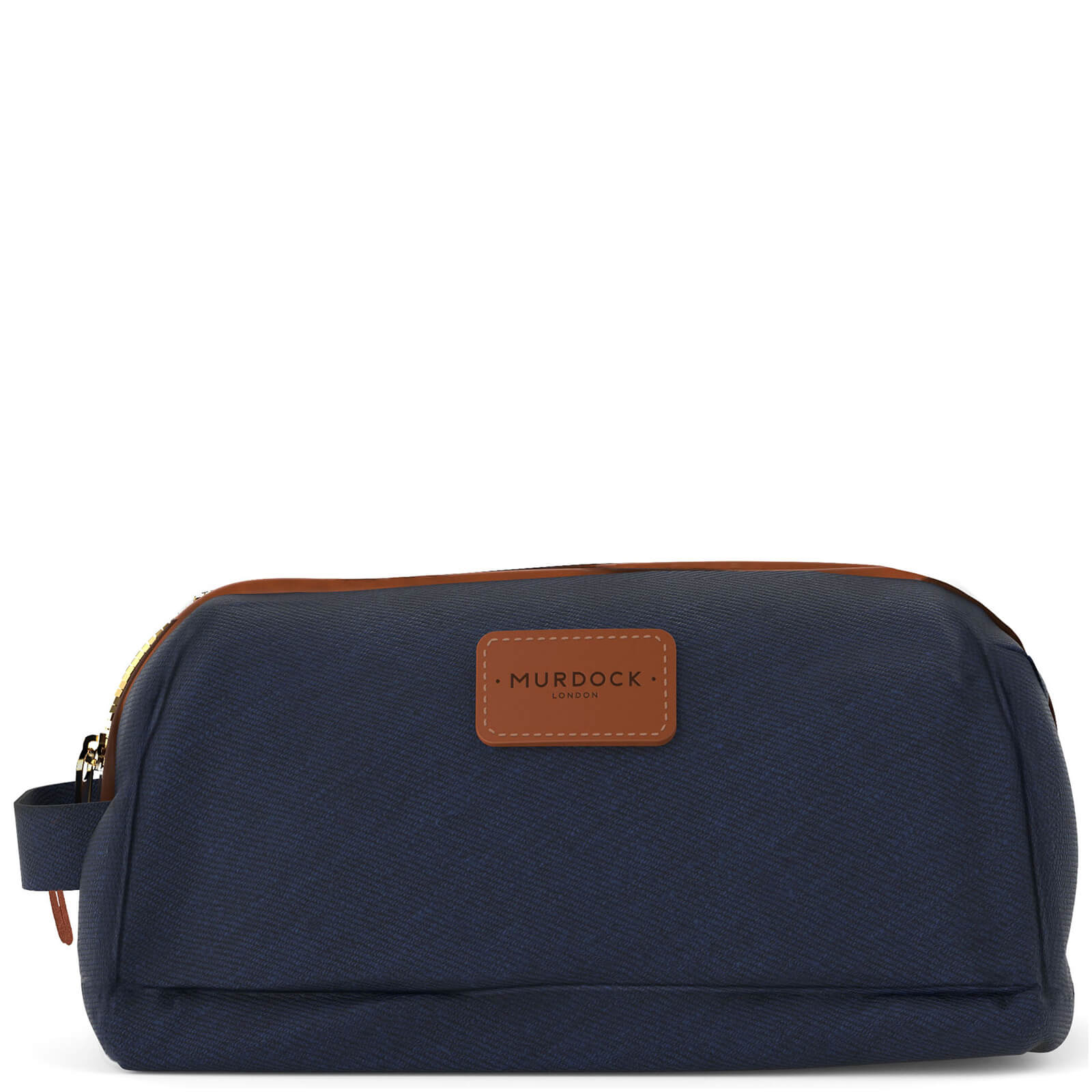 Description. Navy canvas wash bag from Murdock London. Exclusively  handcrafted in England by Brady ... dafc29a599ada