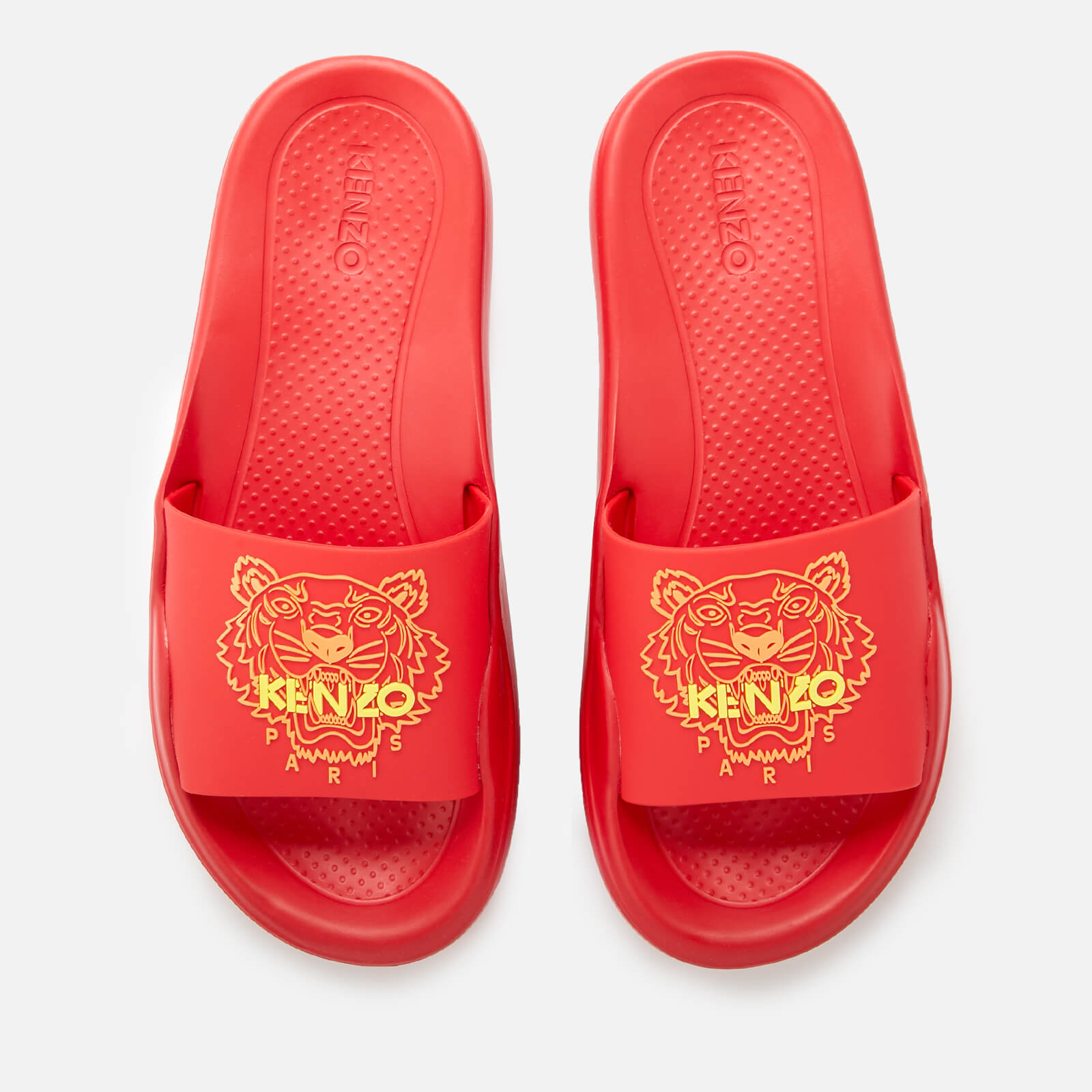 7bbb1265e KENZO Women's Tiger Pool Slide Sandals - Medium Red - Free UK Delivery over  £50