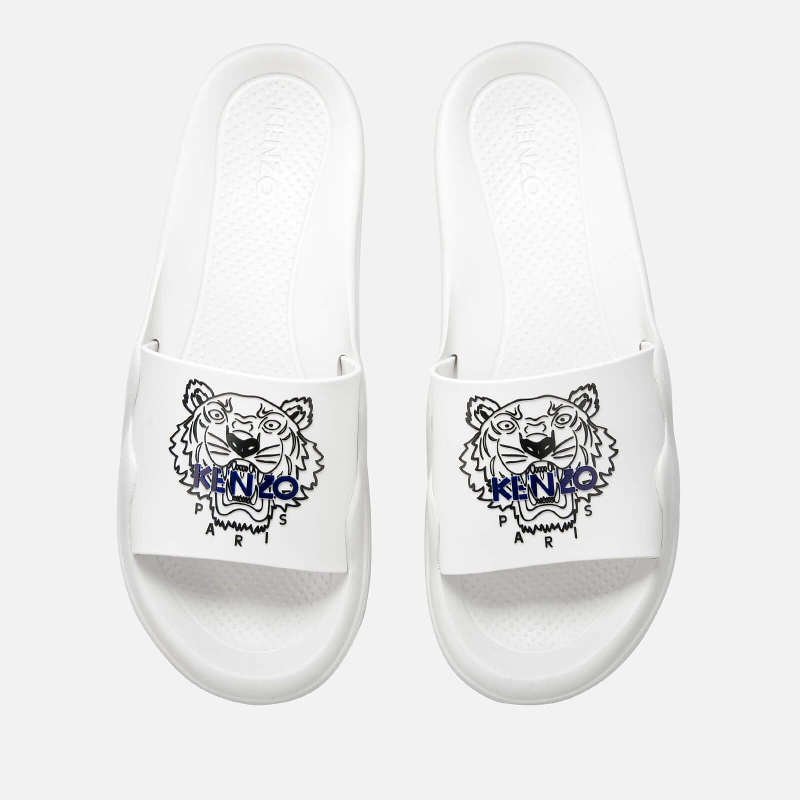Slide Sandals Pool White Men's Kenzo eWxodCBr
