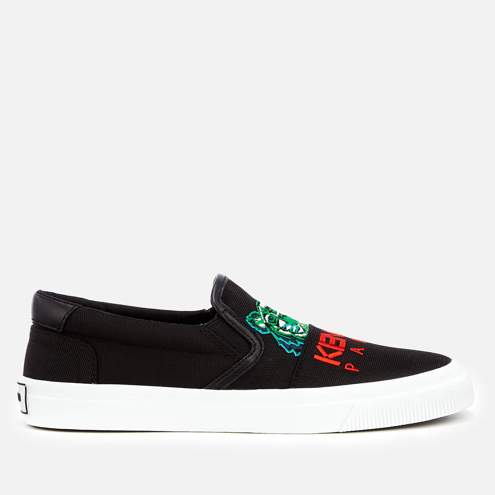 4391bac1 KENZO Women's K-Skate New Tiger Slip-On Trainers - Black - Free UK Delivery  over £50
