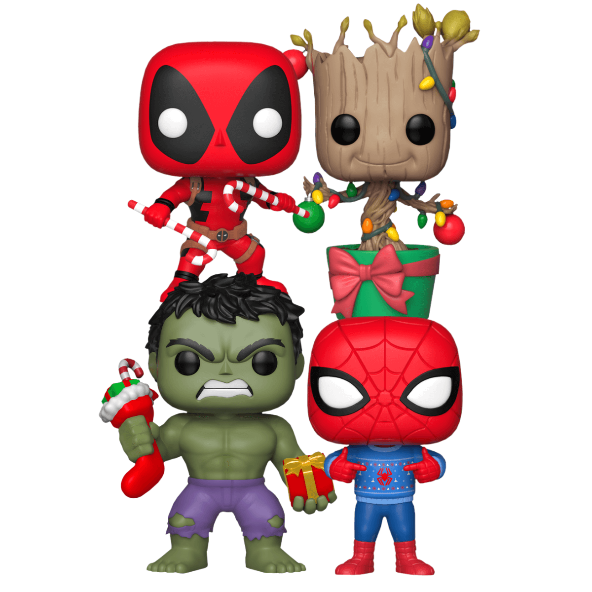 Marvel Christmas.Marvel Holiday Pop Vinyl Pop Collection